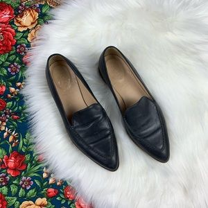 J. Crew Leather loafer pointed toe 7.5